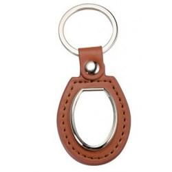 Ādas atslēgu piekariņš ar...